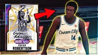 *NEW* GALAXY OPAL OSCAR ROBERTSON IS INCREDIBLE!! THE BEST POINT GUARD IN NBA 2K20 MyTEAM??