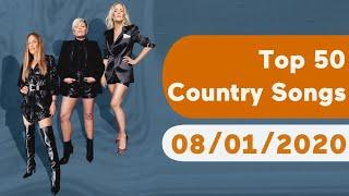 US Top 50 Country Songs (August 1, 2020)