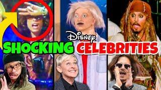 Top 5 Wild Disney Celebrity Moments & their Disney Rides- Disney World & Disneyland