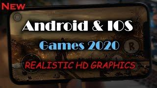 Top 10 NEW Android IOS Games With Controller Support 2020  REALISTIC HD GRAPHICS