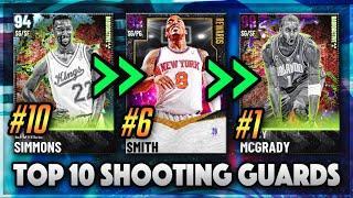 TOP 10 BEST SGs IN NBA 2K21 MyTEAM!!