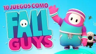 10 JUEGOS como FALL GUYS para ANDROID / iOS | Mejores Juegos parecidos a Fall Guys 2020