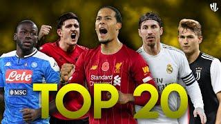 Top 20 Best Defender in Football ● Best Center Back 2020 | HD