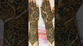 Top pics mehndi designs | mehandi design | front hand | back side | leg | foot | finger | #shorts