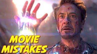 Avengers Endgame Mistakes | Movie Mistakes in Avengers | Ironman R.I.P.