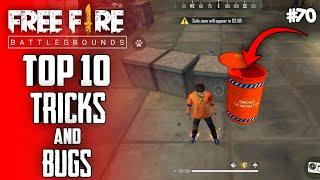 Top 10 New Tricks In Free Fire | New Bug/Glitches In Garena Free Fire #70