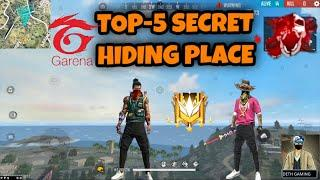 NEW TOP HIDDEN PLACES IN FREE FIRE BERMUDA-2021 || NEW HIDDEN PLACE AFTER UPDATE BY ONE DAY GAMING