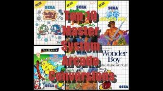 Top 10 Master system Arcade games