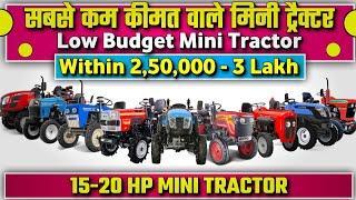 Top 10 Best Mini Tractor in Low Price in India 2021 | सबसे कम कीमत वाले टॉप 10 मिनी ट्रेक्टर