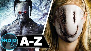 The Worst Horror Movies of All Time from A to Z