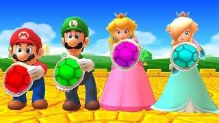 Mario Party The Top 100 MiniGames - Mario vs Luigi vs Rosalina vs Peach (Very Hard Cpu)