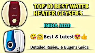 Top 10 Best [water heater geysers] in india 2020 with full buying guide | [geyser] review in hindi