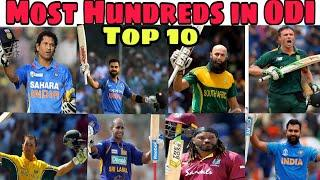 Most Hundreds in World cricket history  Top 10 batsman with most centuries in World cricket 