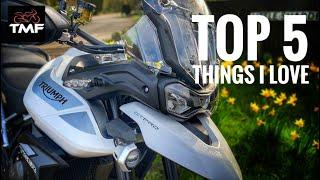 2020 Triumph Tiger 900 Review   Top 5 things I love