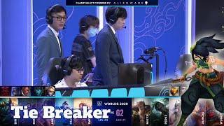 SN vs G2 - Tie Breaker | Day 5 Group A S10 LoL Worlds 2020 | Suning vs G2 eSports - Groups full game