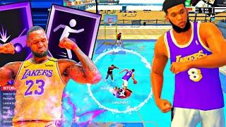 BEST POINT FORWARD BUILD ON NBA 2K21! DEMIGOD LEBRON JAMES BUILD! THIS POINT FORWARD IS TAKING OVER!