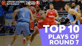 Turkish Airlines EuroLeague Regular Season Round 7 Top 10 Plays