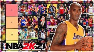 RANKING THE BEST PLAYERS IN NBA 2K21 MyTEAM!! (Tier List)