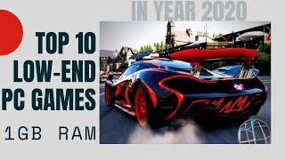 TOP 10 Best Graphics Games for Low-End PC | 1 GB RAM and Single Core Processor PC/Laptop in 2020