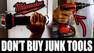 Milwaukee FUEL Tools For Drywall Framing (STOP WASTING MONEY)