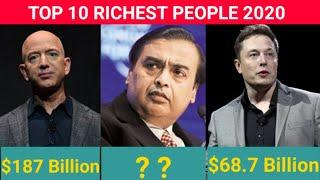 Top 10 Richest People in The World || Richest people in 2020 || The Story