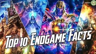 Top 10 Avengers Endgame Facts | Things You Missed In Endgame | Funny, Interesting & Sad | Hindi