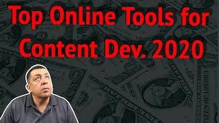 Top 10 Online Tools for Content Development in 2020 (for Affiliate Marketing)
