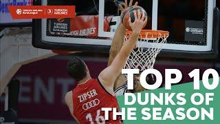Turkish Airlines EuroLeague, Top 10 Dunks of the 2020-21 Season!