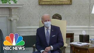Biden, GOP Senators Set To Discuss Smaller Covid Relief Package | NBC Nightly News