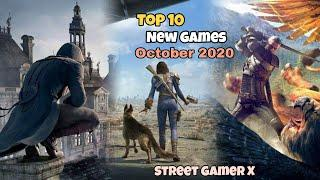 Top 10 New Games Of October 2020 High Graphics Online/Offline For Free Play Now In This Month
