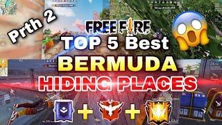 Free Fire Top 5 Best Hiding Places Bermuda 2021