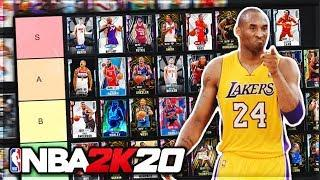 RANKING THE BEST SG IN NBA 2K20 MyTEAM!! (Tier List)