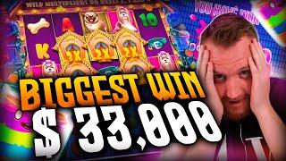 Streamer Big win 33.000€ on The Dog House Slot - Top 5 Biggest Wins of week
