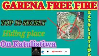 Top 10 secret hiding place in katulistiwa ,Bermuda map!free fire too secret hiding place Katulistiwa