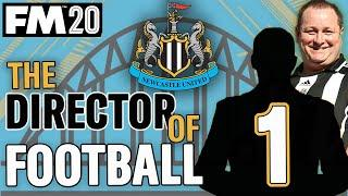 FM20 NEWCASTLE 1 || DIRECTOR OF FOOTBALL CHALLENGE || Football Manager 2020