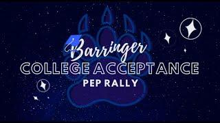 Barringer High School College Acceptance Pep Rally 2020