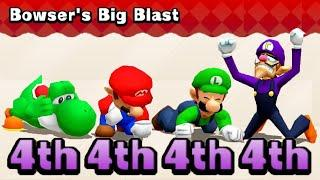 Mario Party The Top 100 MiniGames Yoshi Vs Mario Vs Waluigi Vs Luigi (Master Difficulty)