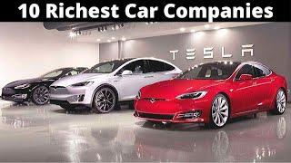 10 Most Valuable Car Companies in the world 2020