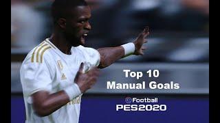 PES 2020 Top 10 Manual Goals (Legend Level)