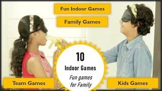 10 Games for kids | Indoor Games | Party Games for kids and family (2020)