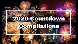 TOP 10 Best New Year Countdown 2020 | Worldwide