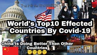 #trending #information #top10 #Covid19 #coronavirus World's Top 10 Effected Countries By Covid-19.