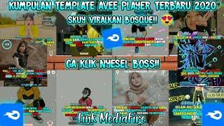 Kumpulan template avee player terbaru || Top 10 || Line Art || Simpel || Keren! || VirallKan