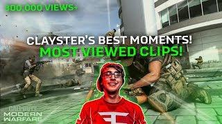 TOP 20 MOST VIEWED CLAYSTER CLIPS OF ALL TIME!