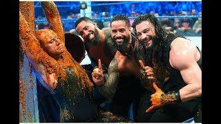 wwe smackdown Roman Reigns & Usos vs King Corbin, Ziggler, Roode loser eat dog food
