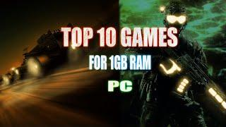 Top 10 low end PC games for 1 GB ram PC   Top 10 low end pc games without graphics card   2021