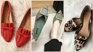 Best Stylish Ladies Flat Pumps Shoes Designs In 2020/Unique Stylish Shoes For Girls Styles 2020!