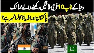 Top 10 Militaries in the world | Most Powerful Military  | Military Ranking Country Wis | Info Cover