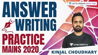 L28: Daily Answer Writing Practice | Conquering UPSC CSE Mains 2020 | Kinjal Choudhary