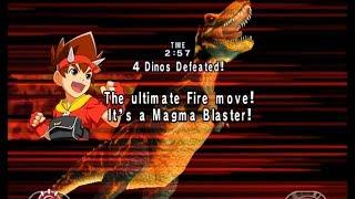 Top 10 Super Moves - Dinosaur King Arcade Game 恐竜キング [D-Team VS. the Alpha Fortress]